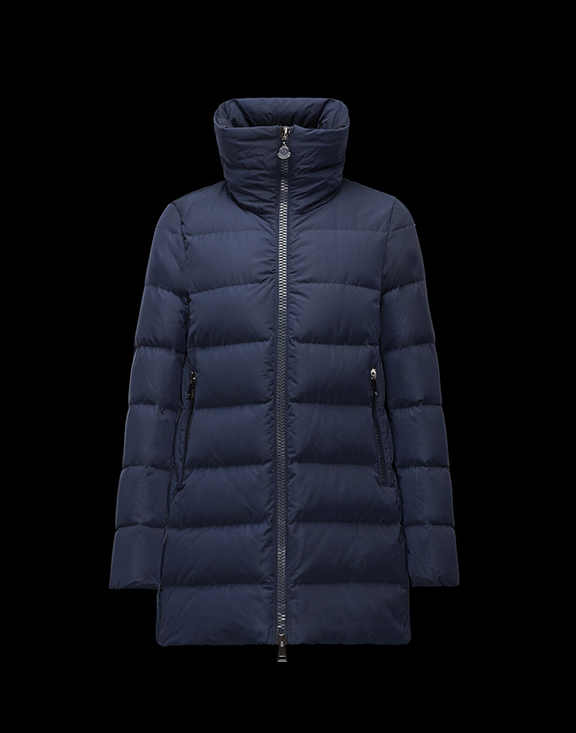 Women Moncler Down Jackets Petrea Navy