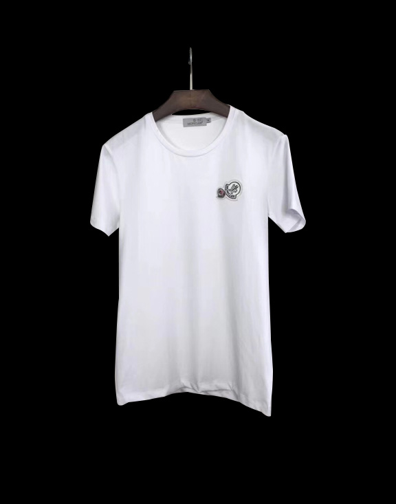 Men Moncler T-Shirt White