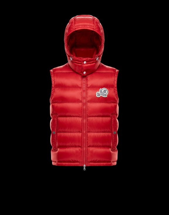 Men Moncler Vest Gers Red