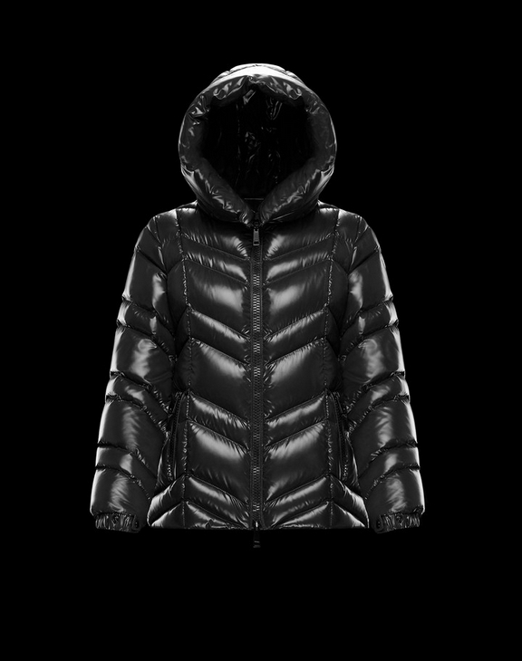Women Moncler Down Jacket FULIGULE Black