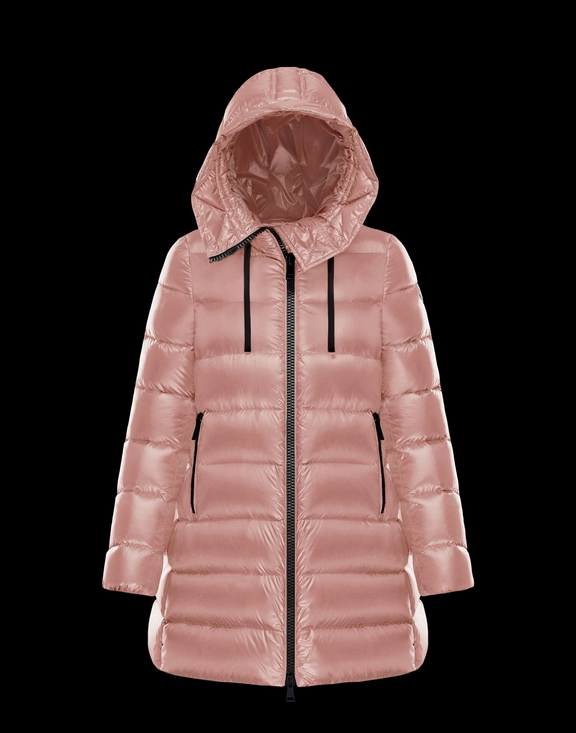 Women Moncler Down Jacket SUYEN Pink