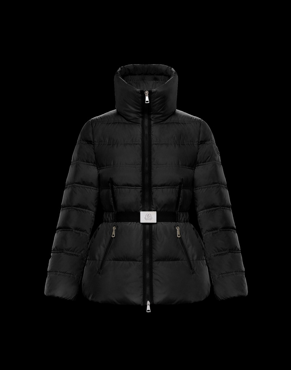 Women Moncler Down Jacket ALOUETTE Black