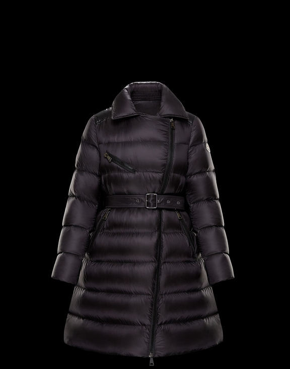 Women Moncler Down Jacket GELINOTTE Black