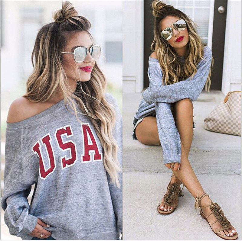 Fashion Women Long Sleeve Hoodie Sweatshirt 2017 New Casual O-neck Hooded Coat Pullover Tops