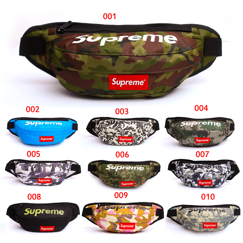 Supreme Contour Hip Bag 10 Color
