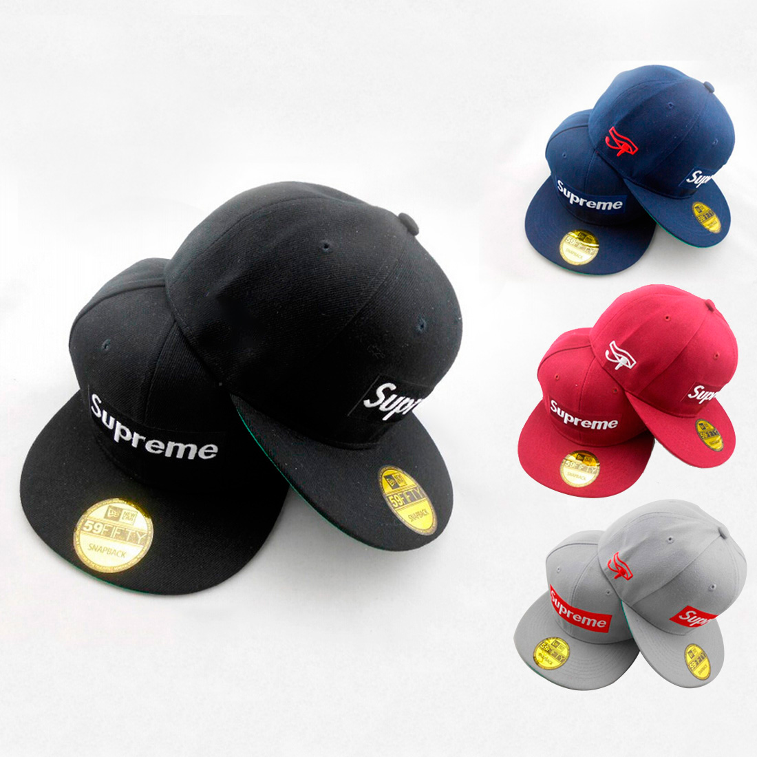 Supreme Box Logo Cap 4 Color