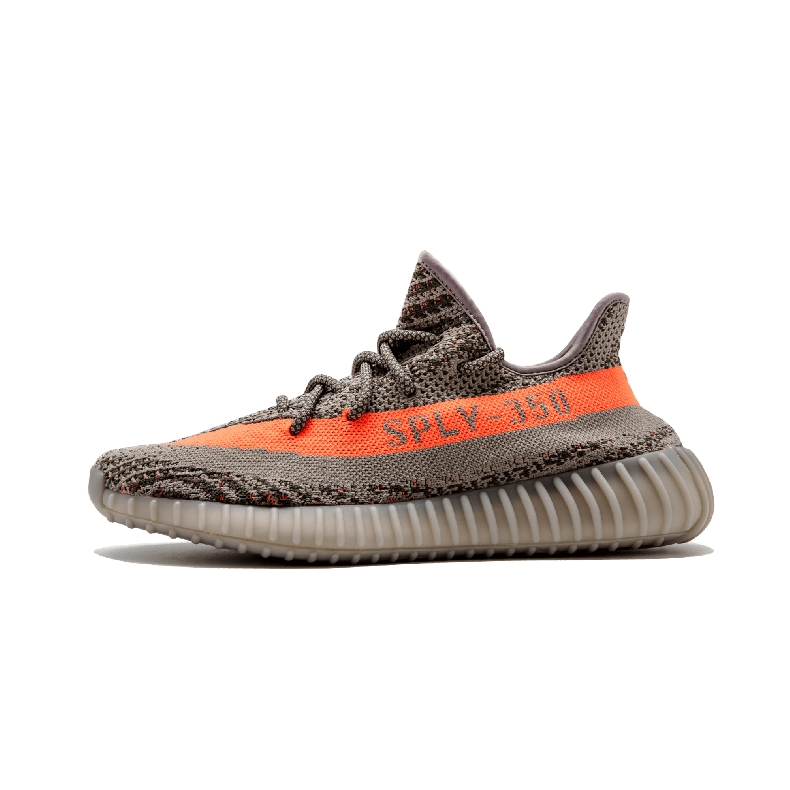 Supreme X Adidas Yeezy Boost 350 V2 Men/Women Gray/Mango