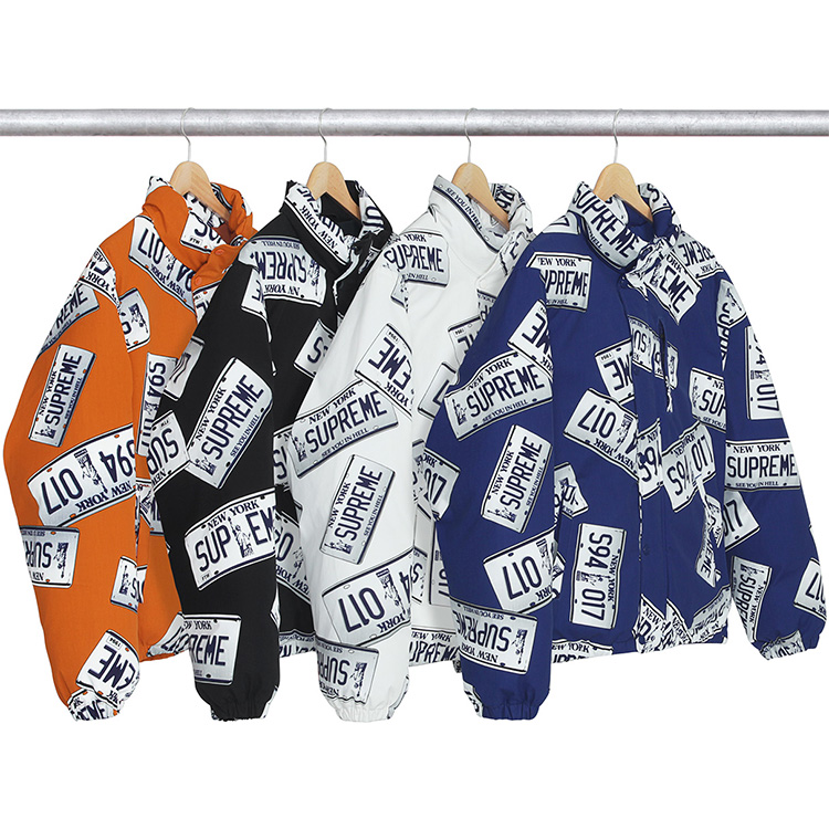 Supreme US Dollars Jacket 4 Color