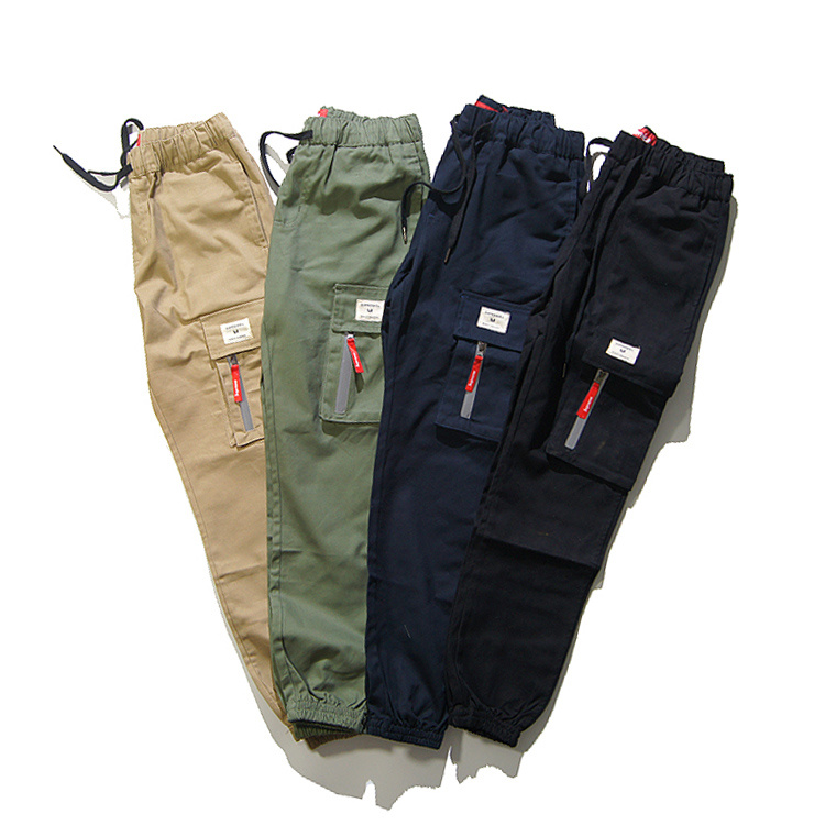 Supreme Reflective Zipper Field Pants 4 Color