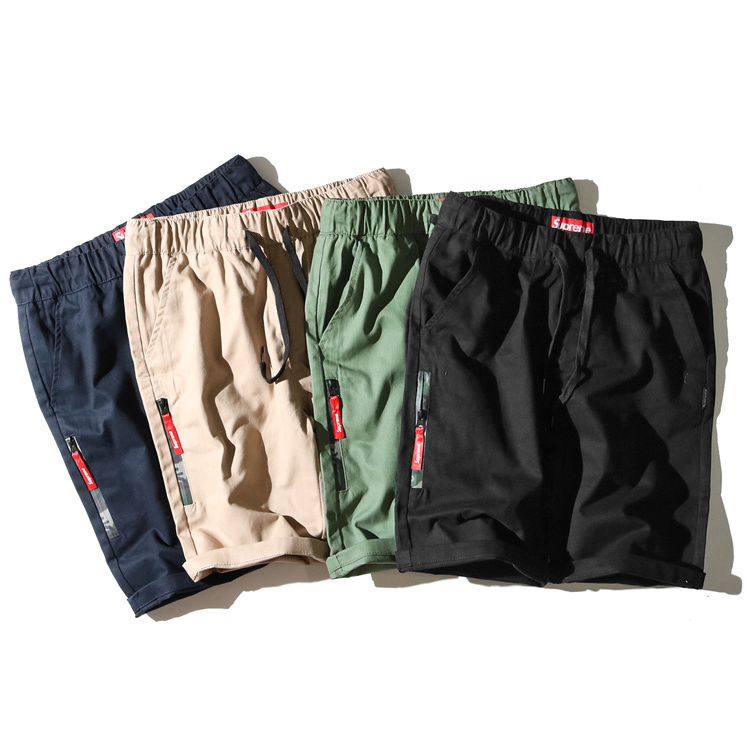 Supreme Camo Zipper Short Pants 4 Color