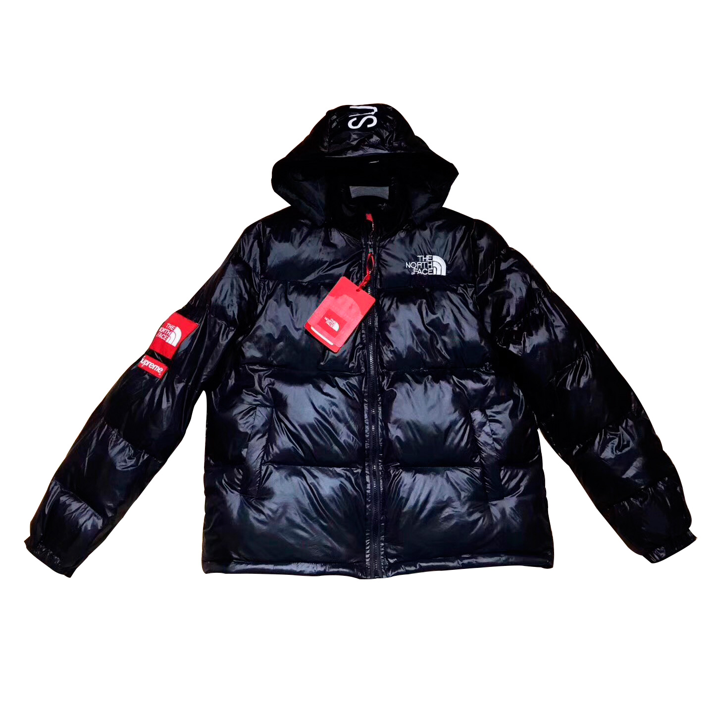 Supreme x The North Face Down Jacket Black