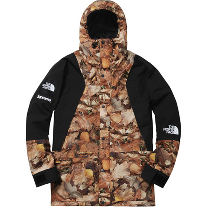 17FW Supreme x The North Face Maple leaves Jacket