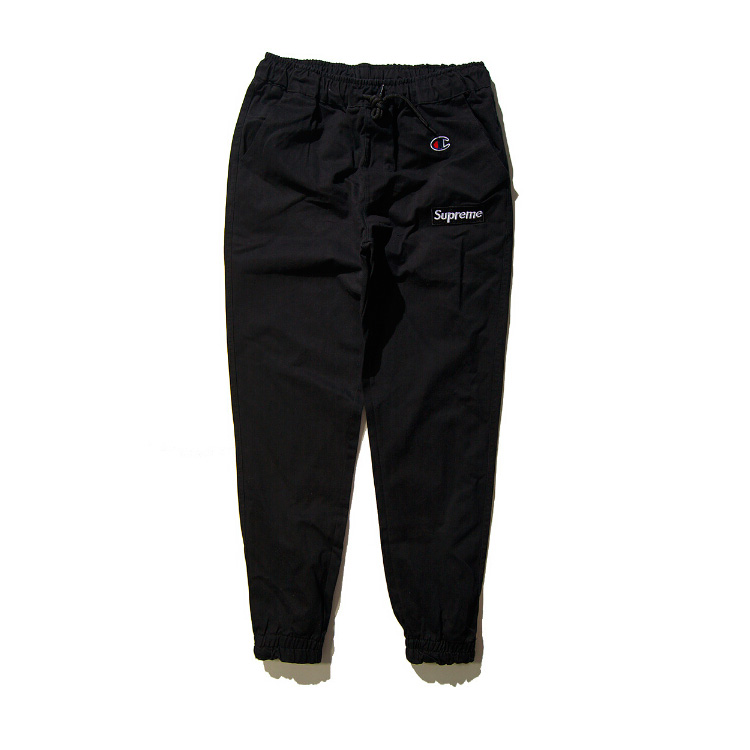 Supreme X Champion Casual Pants Black