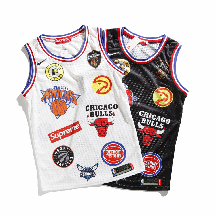 18SS Supreme X NBA X Nike Basketball Jersey 2 Color