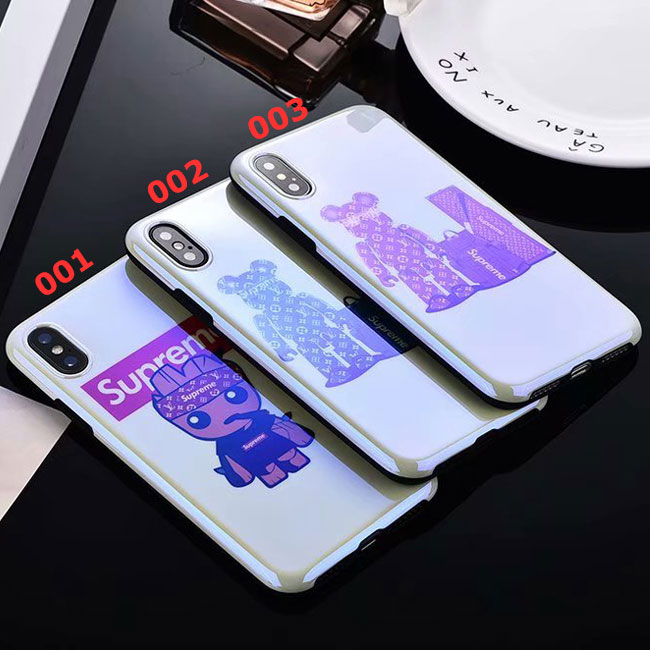 18SS SupremeXLouis Vuitton  Iphone6/6s, 6/6sPlus, 7, 7Plus,8,8Plus,X,XS,XS Max,XR Case