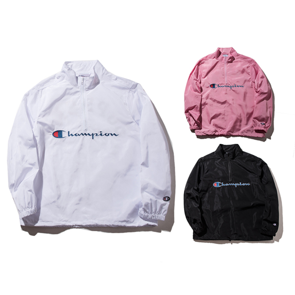 17FW Supreme X Champion Half Zip Pullover 3 Color