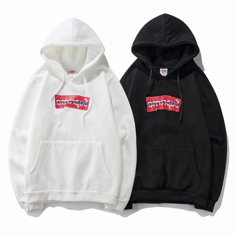 Supreme X Comme Des Garcons Men/Women Hoodies 2 Color
