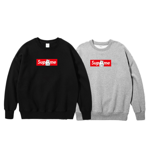Supreme X Ripndip Printed Crewneck Sweater 2 Color