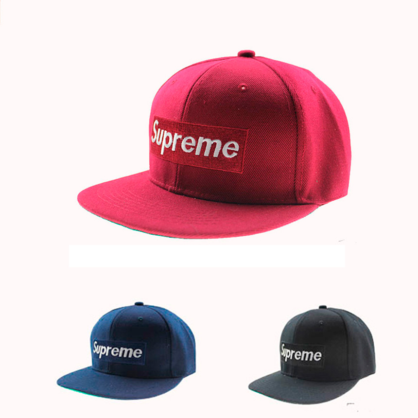 Supreme Logo Hip Hop Men/Women Cap 3 Color