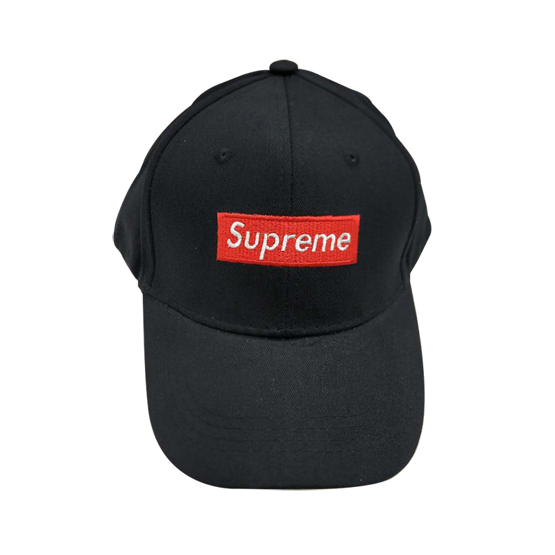 Supreme Embroidery Letters Hip Hop Cap 2 Color