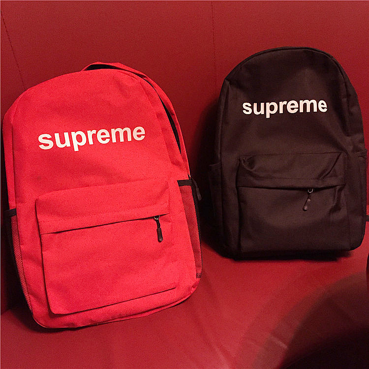 Supreme Logo Canvas Shoulder Bag 2 Color