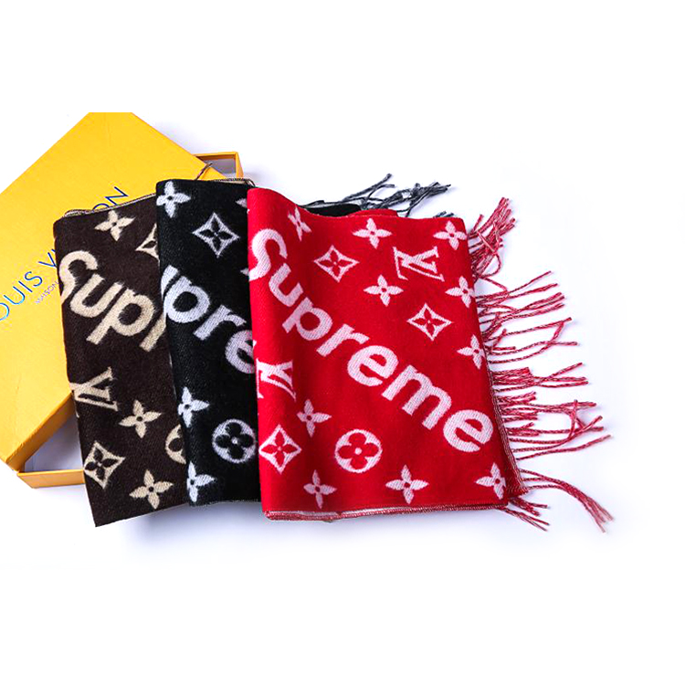 Supreme X Louis Vuitton Monogram Scarf 3 Color