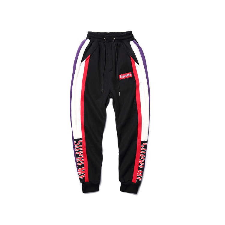 Supreme Box Logo Plus Cashmere Sports Pants Black