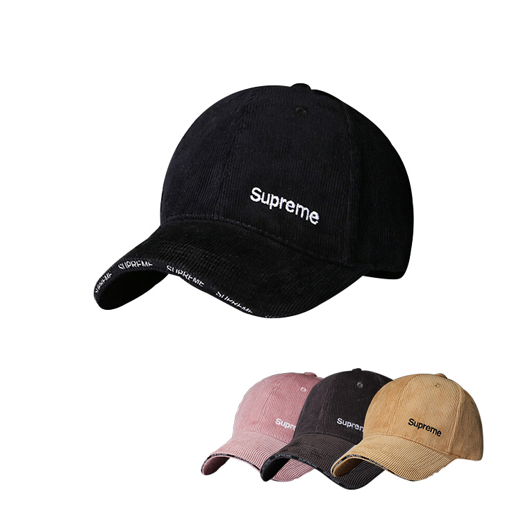 Supreme Men/Women Logo Cap 4 Color