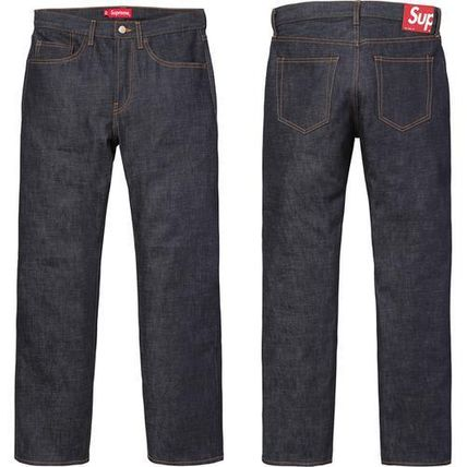 Supreme Rigid Slim Jeans Black
