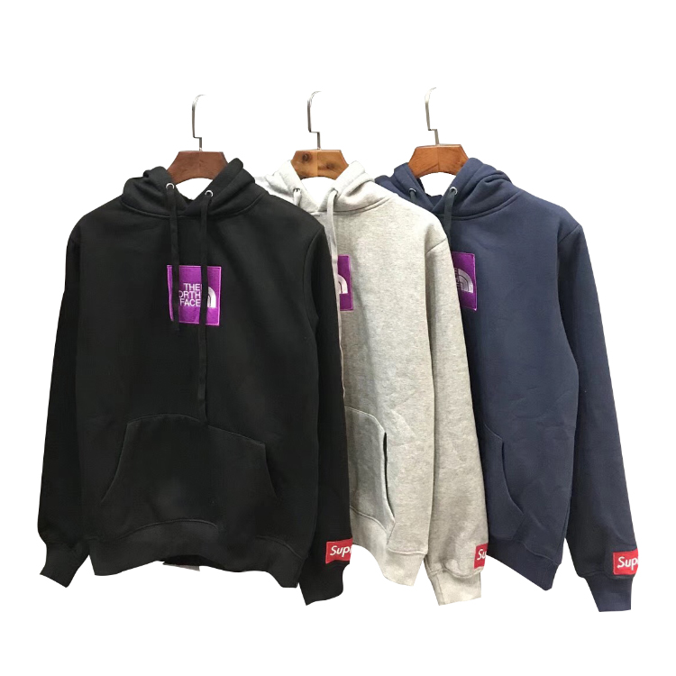 Supreme X The North Face Square Logo Big Hoodie 3 Color