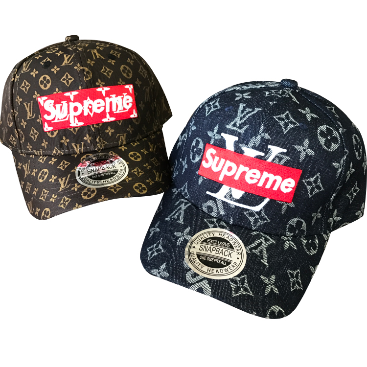 Supreme X Louis Vuitton Box Logo Cap 2 Color
