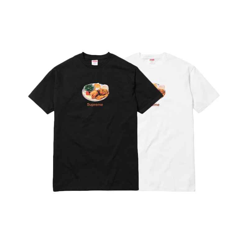 18SS Supreme Chicken Dinner Tee 2 Color