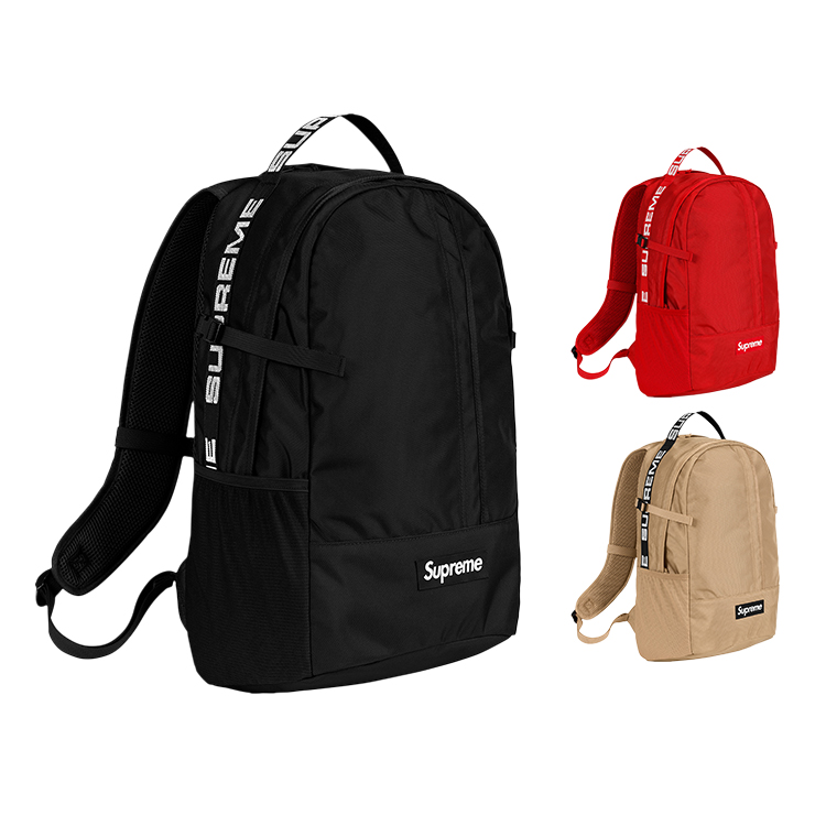 18SS Supreme 44th Backpack Box Logo 24L 3 Color