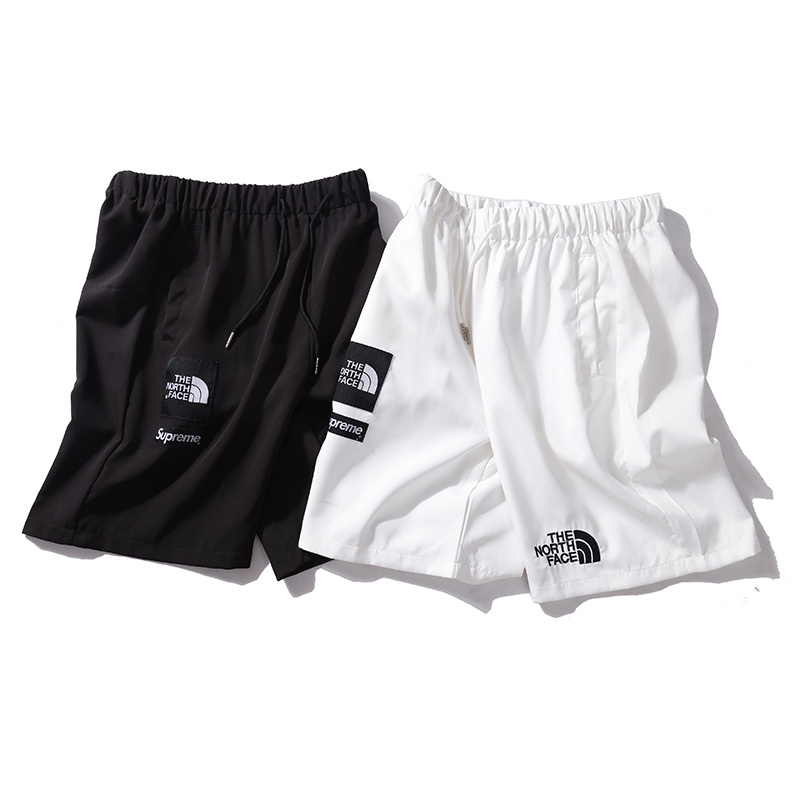 Supreme X The North Face Logo Casual Shorts 2 Color