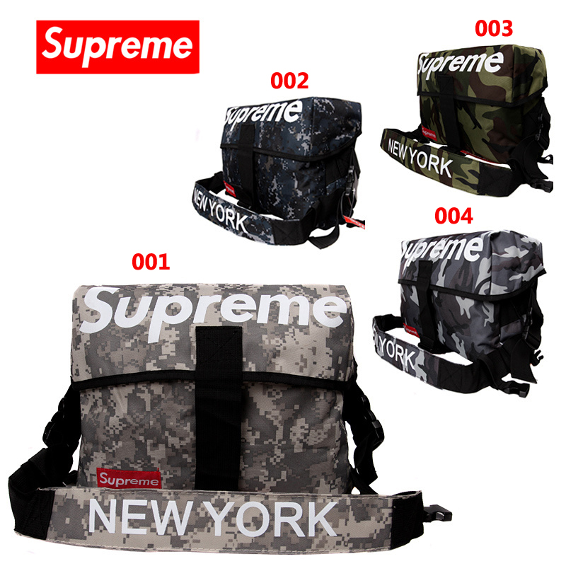 Ss17 Supreme Messenger Bag Women/Men Camouflage 4 Color