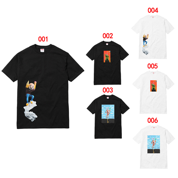 17SS Supreme X Mike Hill T-Shirt 6 Color