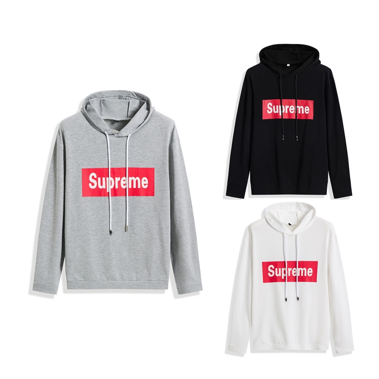 Supreme Big Box Logo Hooded Sweatshirt 3 Color