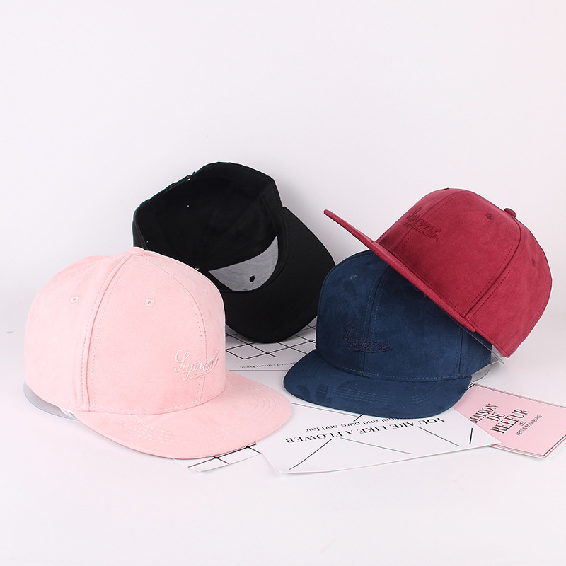 Supreme Suede Fabric Hip Hop Cap 3 Color