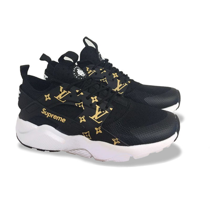 Supreme X Louis Vuitton X Nike Air Huarache Sneakers
