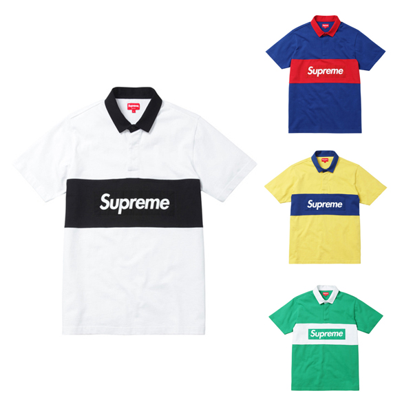 Supreme Polo Shirt Rugby 4 Color