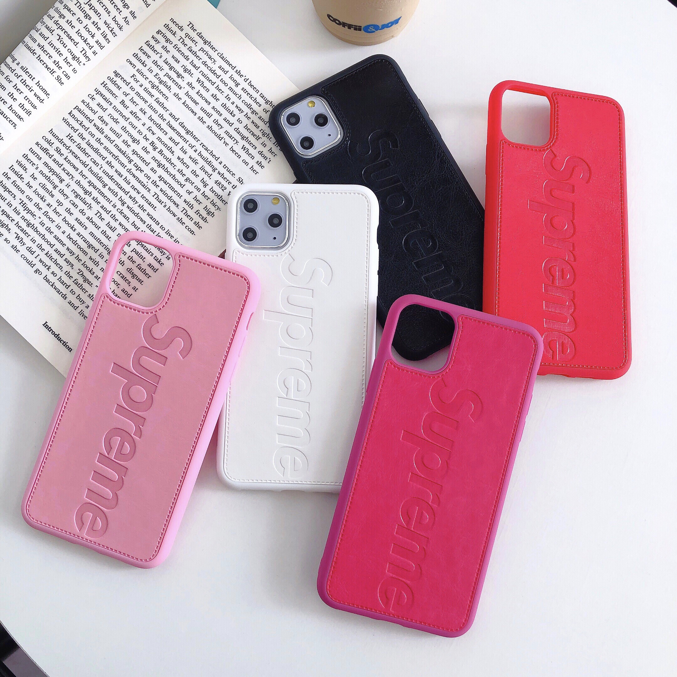 Supreme IPhone6/6s 6/6sPlus 7/8 7/8Plus Case 3 Color