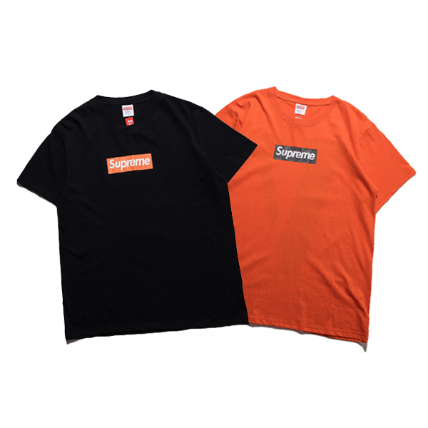 17ss Supreme & Vlone BOX LOGO  T-Shirt 2 Color