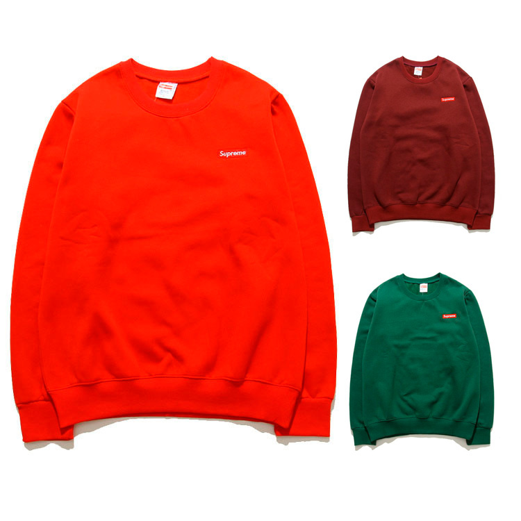 Supreme Box Logo Crewneck Sweatshirt 3 Color