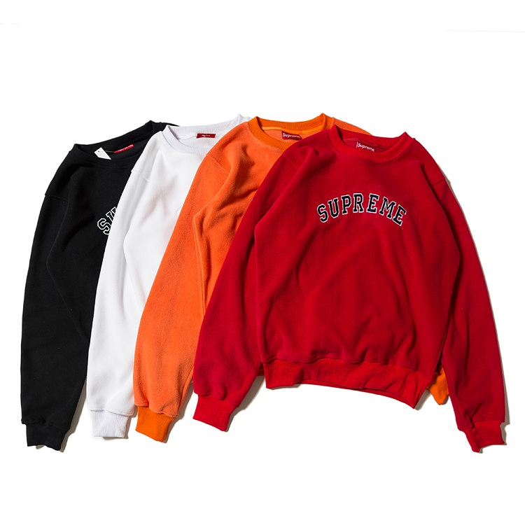 Supreme Polartec Crewneck Sweatshirt 4 Color