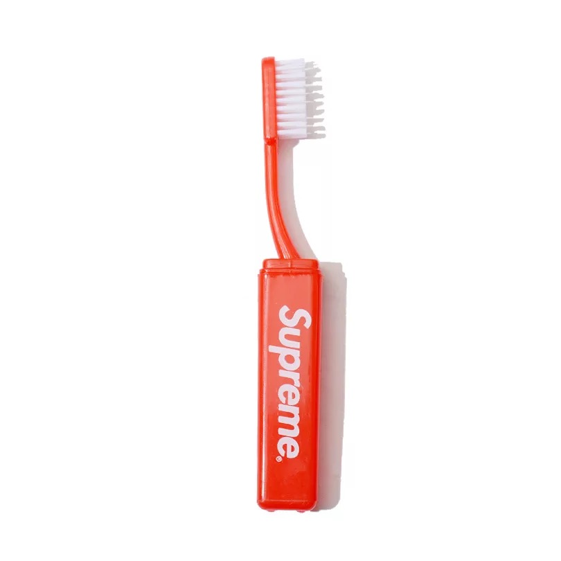 17FW Supreme Travel Toothbrush Red