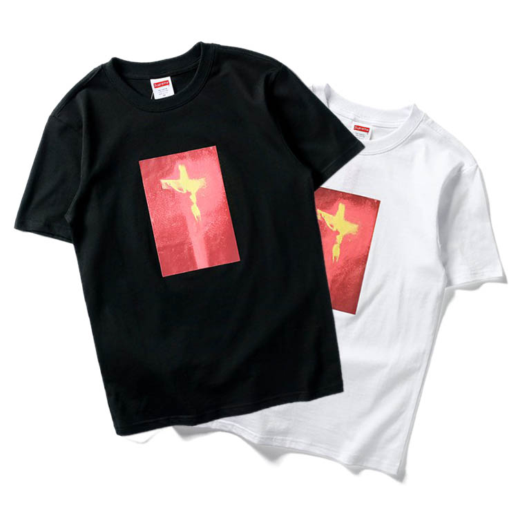 17FW Supreme Piss Christ Tee 2 Color