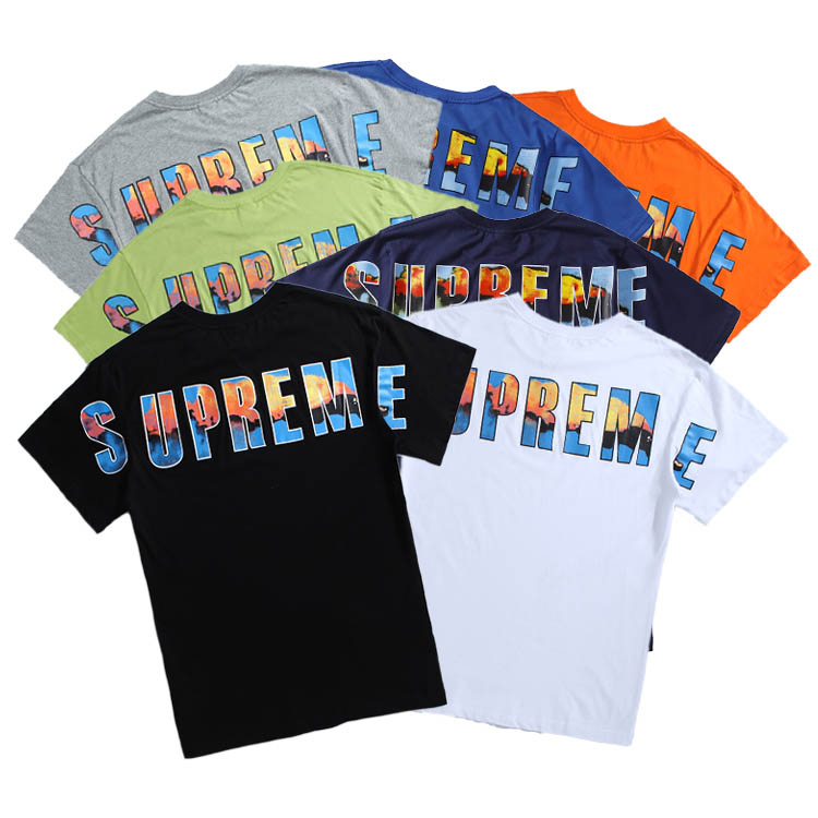 17FW Supreme Crash Tee 7 Color