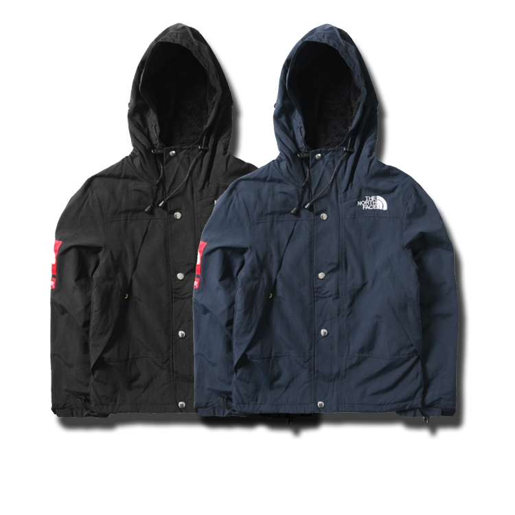 Supreme X The North Face Inner Suede ジャケット 2色