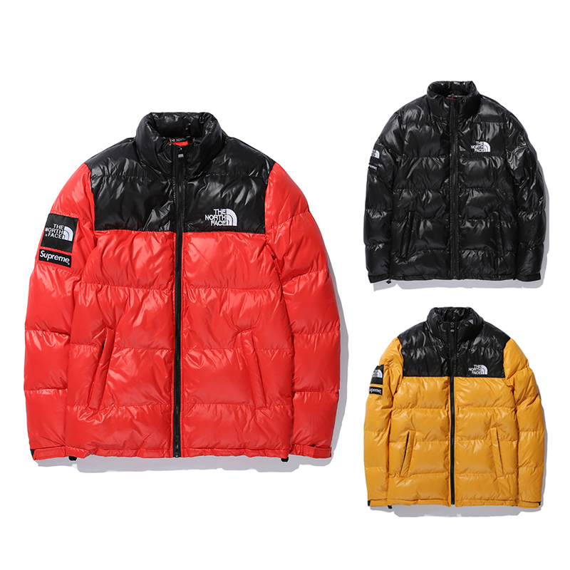 Supreme X The North Face Down Nuptse ジャケット 3 色