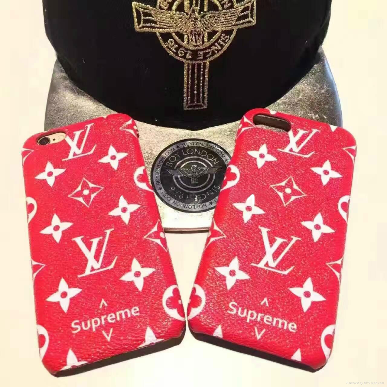 Supreme & LV Iphone6/6s Iphone6/6s Plus Iphone7 Iphone7 Plus Iphone8 Iphone8 Plus ケース